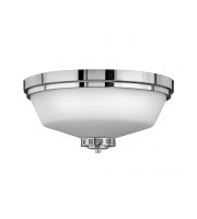 Elstead Ashley Flush 3 Light Bath (Polished Chrome)