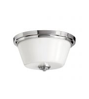 Elstead Avon 2 Light Flush Mount (Polished Chrome)