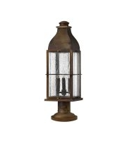 Elstead Bingham 3 Light Pedestal (Sienna)