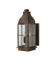 Elstead Bingham 3 Light Large Wall Lantern (Sienna)