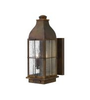 Elstead Bingham 3 Light Medium Wall Lantern (Sienna)