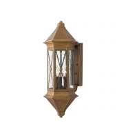 Elstead Brighton 3 Light Large Wall Lantern (Sienna)