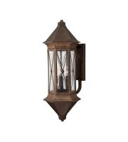Elstead Brighton 4 Light Extra-large Wall Lantern (Sienna)