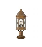 Elstead Brighton 3 Light Pedestal (Sienna)