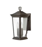 Elstead Bromley 2 Light Medium Wall Lantern (Oil Rubbed Bronze)