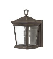 Elstead Bromley 1 Light Small Wall Lantern (Oil Rubbed Bronze)