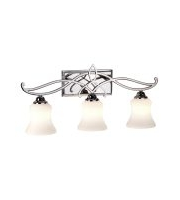 Elstead Brooke 3 Light Above Mirror Light (Polished Chrome)