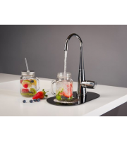 Hyco Double Outlet Cold Drinking Water Tap (Polished Chrome)