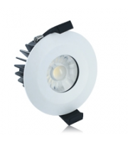 Integral 6W IP65 Low Profile Dimmable LED Downlight (Matt White)