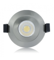 Integral 220-240V 6W Fire Rated LED Dimmable Downlight (Polished Chrome)