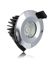 Integral 6W IP65 Low Profile Dimmable LED Downlight (Chrome)