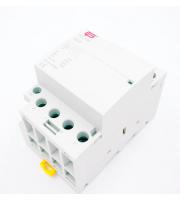 Fusebox 63A 4P Installation Contactor 230V (White)
