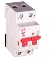 Fusebox 100A AC22A 2POLE Main Switch (White)