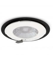 JCC V50 Fire-rated Led Downlight 7W 650lm IP65 No Bezel (Black)