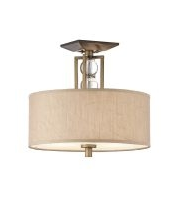 Elstead Celestial 3 Light Semi-flush (Cambridge Bronze)