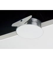 Levello Blank Plate With Housing And Mains Connector (White)