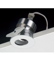 Levello Directional Led IP65 Downlight Obround Plate (White)