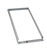 NET LED Panel 1200x600 Surface Box (Silver)