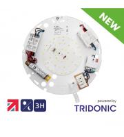 NET LED Duxford 2D Gear Tray 16W Tri-colour Photocell Emergency