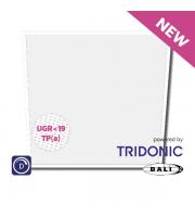 NET LED Ashley UGR<19 Tri-colour Pnl 600x600 30W Tp(a) Dimmable