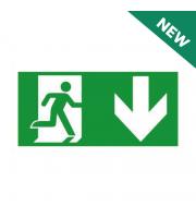 NET LED Down Arrow - Legend Only For NET-51-10-74 Em Suspended Exit Sign
