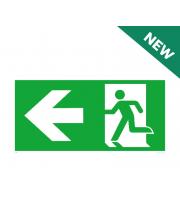 NET LED Left Arrow - Legend Only For NET-51-10-74 Em Suspended Exit Sign
