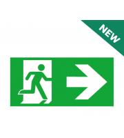 NET LED Right Arrow - Legend Only For NET-51-10-74 Em Suspended Exit Sign