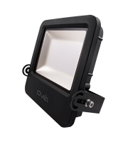Ovia Pathfinder 100W Led Floodlight With Photocell - IP65 - 4000K - Black