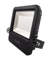 Ovia Pathfinder 150W Led Floodlight With Photocell - IP65 - 4000K - Black