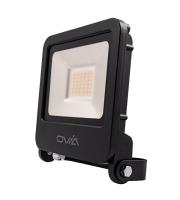 Ovia Pathfinder 30W Led Floodlight - IP65 - 3000K - Black