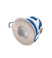 Ovia Omni 7W Led Fixed Dimmable Downlight With Cta Switch - IP65 - Satin Chrome