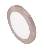 Ovia Inceptor Bezel For 12W Apto Downlight (Satin Chrome)