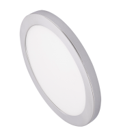 Ovia Inceptor Bezel For 18W Apto Downlight (Chrome)