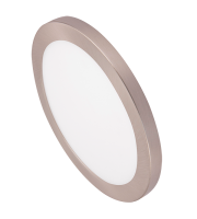 Ovia Inceptor Bezel For 18W Apto Downlight (Satin Chrome)