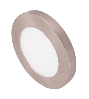 Ovia Inceptor Bezel For 6W Apto Downlight (Satin Chrome)