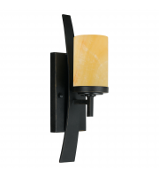Elstead Kyle 1 Light Wall Sconce With 1 Light (Imerial Bronze)