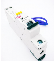 Fusebox 10A 30mA *c Type 6kA Rcbo (White)