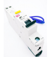 Fusebox 20A 30mA *c Type 6kA Rcbo (White)