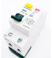 Fusebox 80A 30mA 2P Rcd (ac) (White)