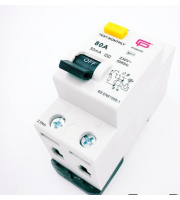 Fusebox 80A 100mA 2P Rcd (ac) (White)