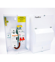 Fusebox 100A Fused Switch (63,80,100A Fuses) (White)