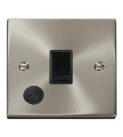 Click Scolmore Vpsat/ch 20A 1-GANG Dp Switch + F/o Bk
