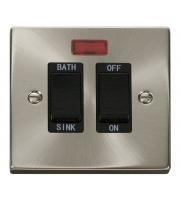 Click Scolmore 20A Dp Sink Bath Sw+