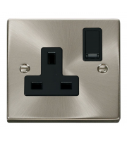 Click Scolmore Vpsat/ch 1-GANG 13A Dp Switched Socket B