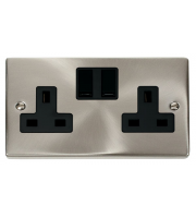 Click Scolmore Vpsat/ch 2-GANG 13A Dp Switched Socket B