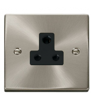 Click Scolmore 5A Round Pin Socket