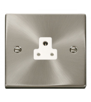 Click Scolmore 1 Gang 2A Round Pin Socket Outlet