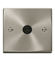 Click Scolmore Non-isolated Single Coaxial Outlet