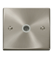 Click Scolmore Vpsc 1 Gang Single Co - Axial Outlet