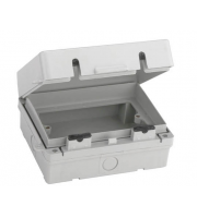 Fusebox Weatherproof Acc Enclosure 2G IP65 (Grey)